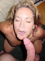 amateur girlfriends swallowing cum